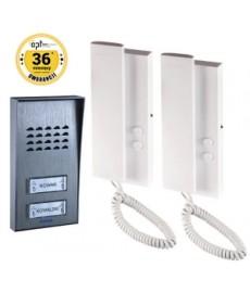 Zestaw domofonowy dwurodzinny 2-żyłowy SAGITTA MULTI OR-DOM-SG-919 ORNO
