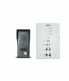 Zestaw domofonowy jednorodzinny, bezsłuchawkowy, ELUVIO, biały OR-DOM-RE-914 ORNO