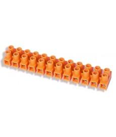 Listwa zaciskowa gwintowa 12-torowa 2.5mm2 pomarańczowa LTF 12-2.5 21210108 SIMET